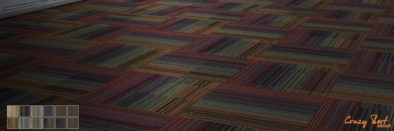 Ковровая плитка Chenille Warp
