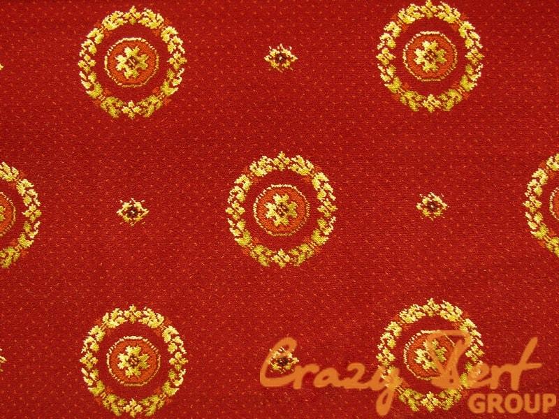 Ковровое покрытие Axminster Laur red