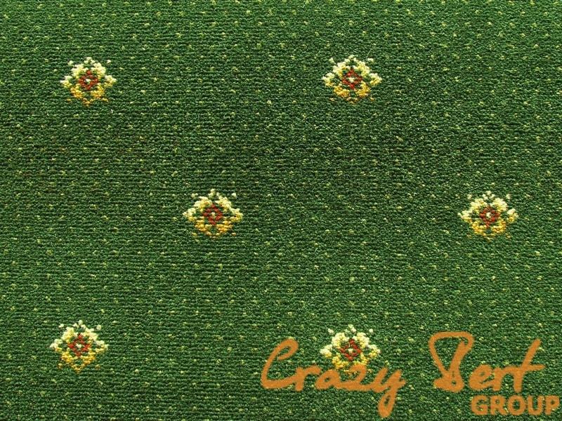 Ковровое покрытие Axminster Outfill Laur dark green