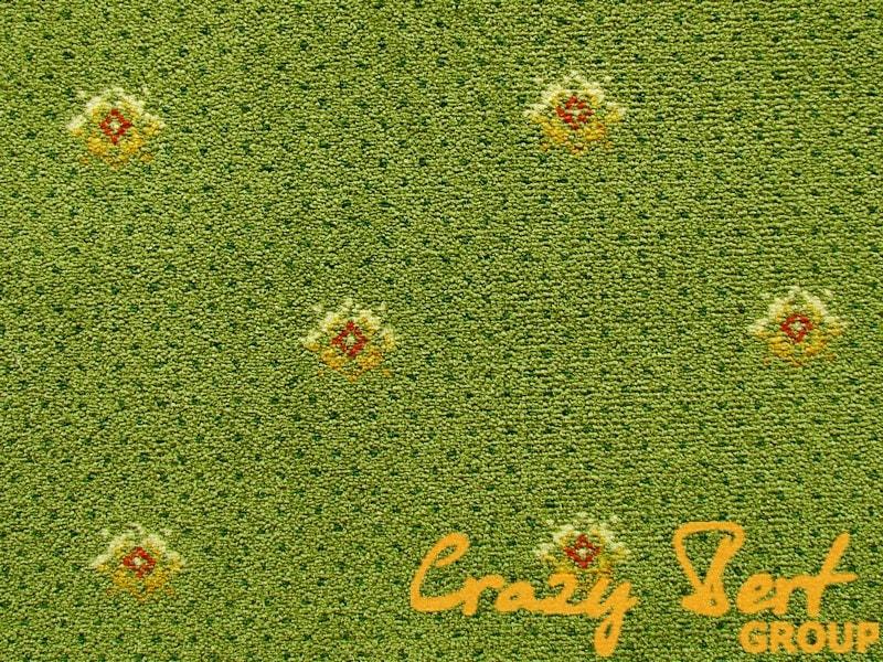 Ковровое покрытие Axminster Outfill Laur green