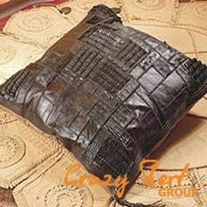 Подушки из кожи